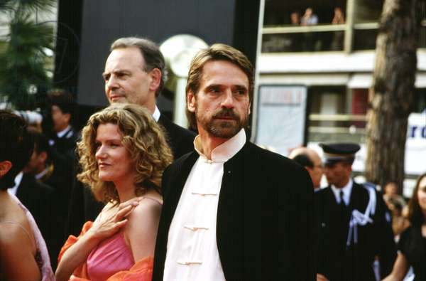 Jeremy Irons at Cannes Film Festival, 2000, by Thierry Carpico