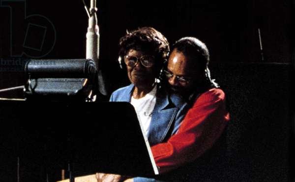 LISTEN UP: THE LIVES OF QUINCY JONES, Ella Fitzgerald, Quincy Jones, 1990