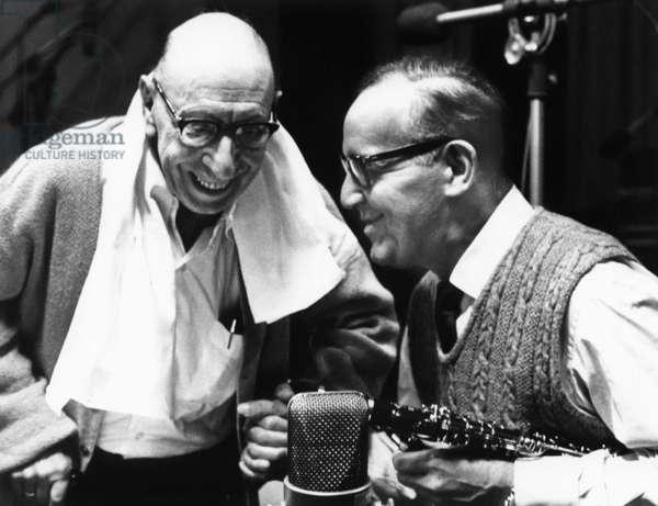 STRAVINSKY, Igor Stravinsky, Benny Goodman, 1966