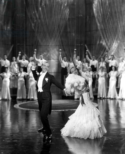 DANCING LADY, Fred Astaire, Joan Crawford, 1933