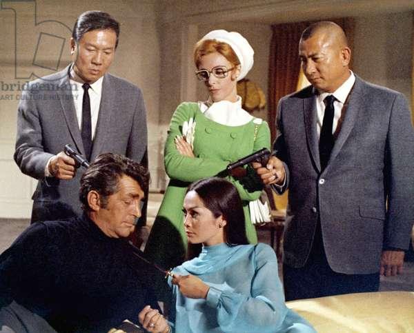 THE WRECKING CREW, Dean Martin, Sharon Tate, Nancy Kwan, 1969