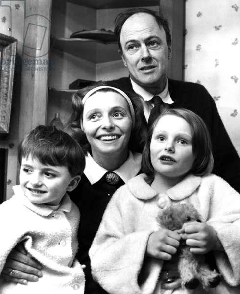 Roald Dahl en famille