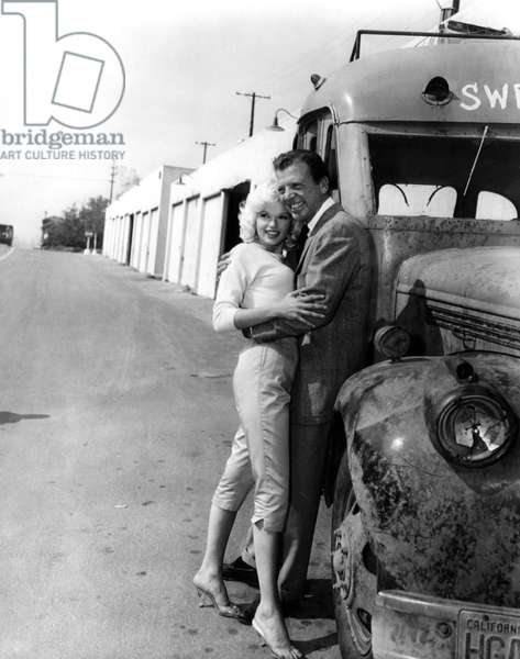 Jayne Mansfield and Dan Dailey: Co-stars Jayne Mansfield and Dan Dailey pose for a publicity shot during 