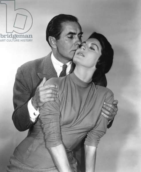 THE SUN ALSO RISES, from left: Tyrone Power, Ava Gardner, 1957, TM & Copyright © 20th Century Fox Film Corp./courtesy Everett Collection