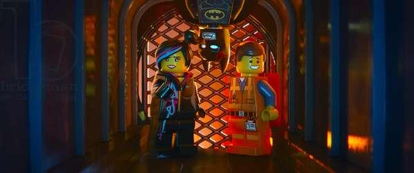 THE LEGO MOVIE, from left: Wyldstyle (voice: Elizabeth Banks), Batman (voice: Will Arnett), Emmet Brickowoski (voice: Chris Pratt), 2014. ©Warner Bros. Pictures/courtesy Everett Collection