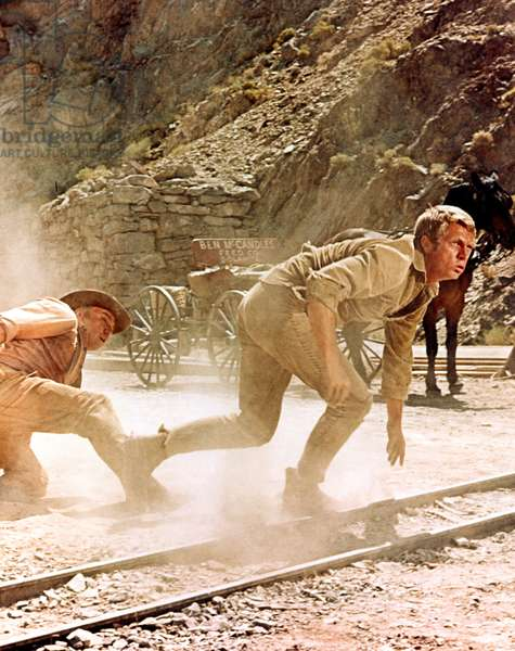NEVADA SMITH, John Doucette, Steve McQueen, 1966