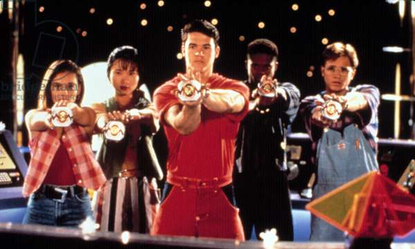 MIGHTY MORPHIN' POWER RANGERS, Amy Jo Johnson, Thuy Trang, Austin St. John, Walter Jones, David Yost, 1993-96