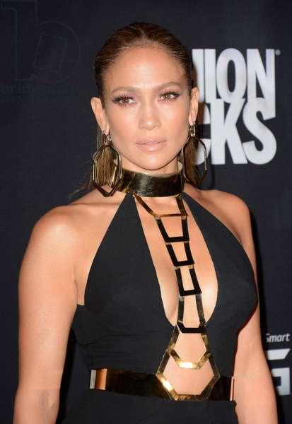 Jennifer Lopez at arrivals for Conde Nast Fashion Rocks Concert 2014 - Part 2, Barclays Center, Brooklyn, NY September 9, 2014. Photo By: Derek Storm/Everett Collection