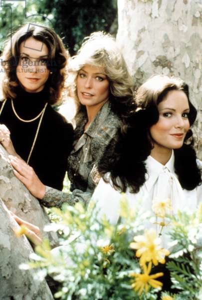 CHARLIE'S ANGELS, Kate Jackson, Farrah Fawcett, Jaclyn Smith, 1976-81