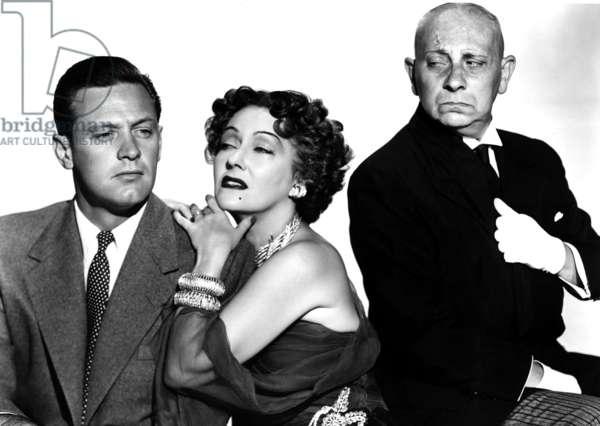 Boulevard du crepuscule: SUNSET BOULEVARD, William Holden, Gloria Swanson, Erich von Stroheim, 1950