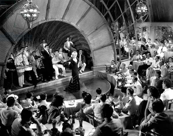 Go West young Man: GO WEST YOUNG MAN, Xavier Cugat and Orchestra, Mae West, 1936, nigh club performance
