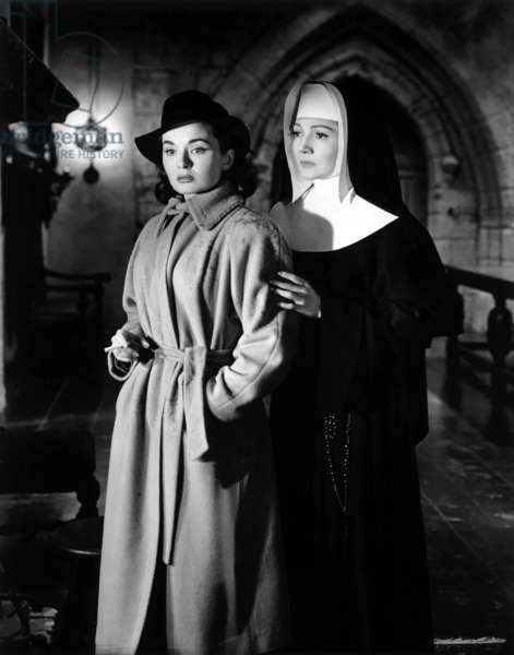 Tempete sur la colline: THUNDER ON THE HILL, Ann Blyth, Claudette Colbert, 1951