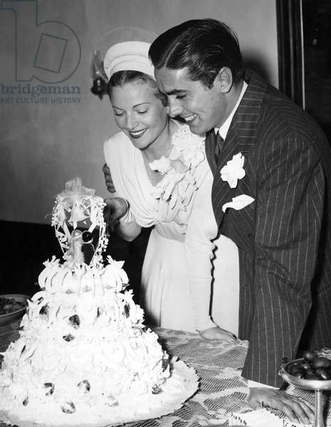 ANNABELLA ET TYRONE POWER