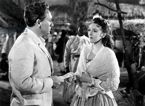 STANLEY AND LIVINGSTONE, from left: Spencer Tracy, Nancy Kelly, 1939. ©20th Century Fox, TM & Copyright, courtesy Everett Collection
