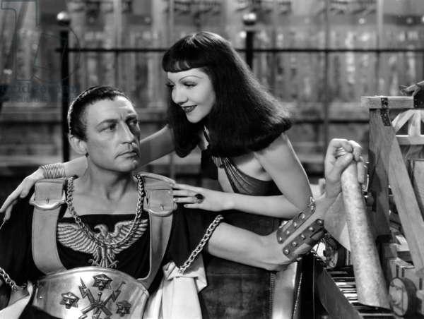 Cleopatre 1934: CLEOPATRA, Warren William, Claudette Colbert, 1934.