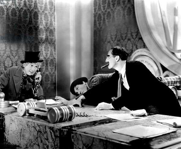 La Soupe au Canard: DUCK SOUP, Harpo Marx, Chico Marx, Groucho Marx, 1933