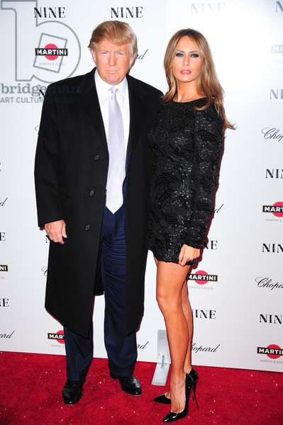 Donald Trump, Melania Trump at arrivals for New York Premiere of NINE, The Ziegfeld Theatre, New York, NY December 15, 2009. Photo By: Gregorio T. Binuya/Everett Collection