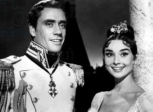 WAR AND PEACE, Mel Ferrer, Audrey Hepburn, 1956