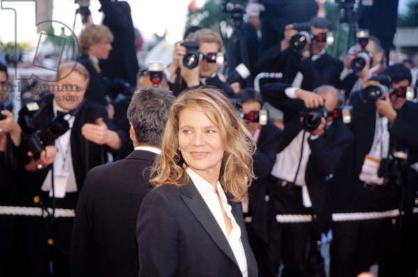 Nicole Garcia at the Cannes Film Festival 5/2002, by Thierry Carpico.