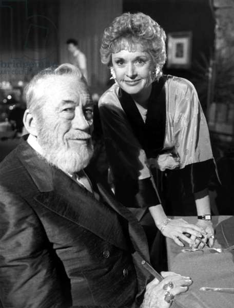 ALFRED HITCHCOCK PRESENTS, John Huston, Tippi Hedren, 'The Man From the South', 1985, © Universal Television / Courtesy: Everett Collection