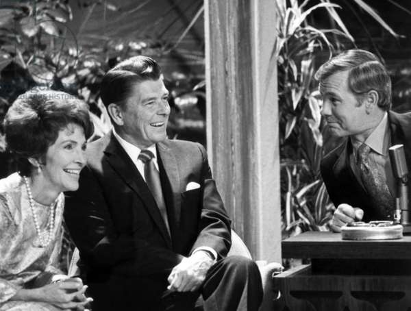 Nancy Reagan, Ronald Reagan, Johnny Carson