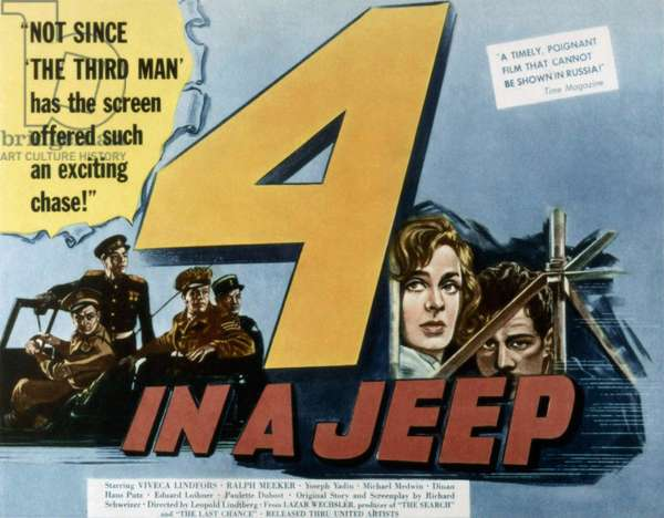 Quatre dans une jeep