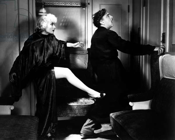 TWENTIETH CENTURY, Carole Lombard, John Barrymore, 1934.: TWENTIETH CENTURY, Carole Lombard, John Barrymore, 1934.