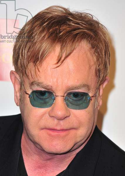 Elton John at arrivals for An Enduring Vision Annual Fundraiser Benefit for Elton John's AIDS Foundation, Cipriani Restaurant Wall Street, New York, NY October 15, 2012. Photo By: Gregorio T. Binuya/Everett Collection