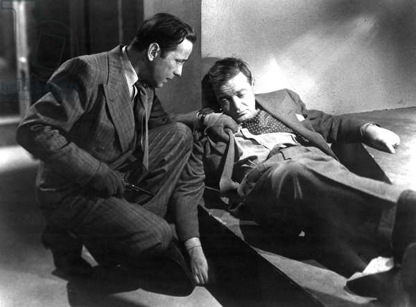 ALL THROUGH THE NIGHT, Humphrey Bogart, Peter Lorre, 1942