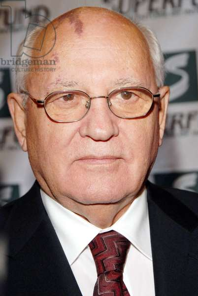 Mikhail Gorbachev at arrivals for 3rd Annual Women's World Awards, Hammerstein Ballroom, New York, NY, October 14, 2006. Photo by: Ray Tamarra/Everett Collection