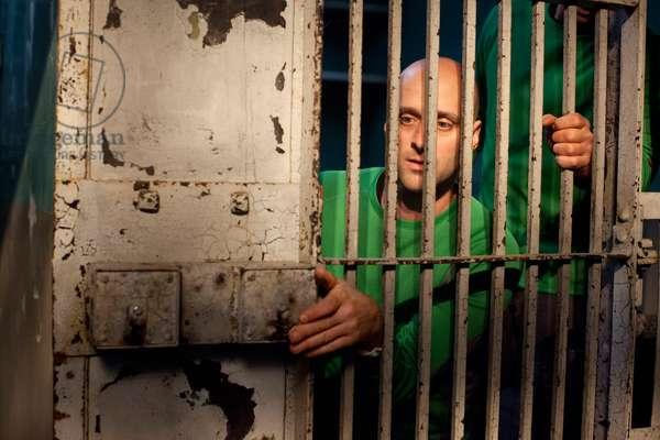 THE GREAT ESCAPE, contestants (at Alcatraz Prison), 'Escape from Alcatraz', (Season 1, ep. 101, aired June 24, 2012), 2012-. photo: John Nowak / © TNT / Courtesy: Everett Collection