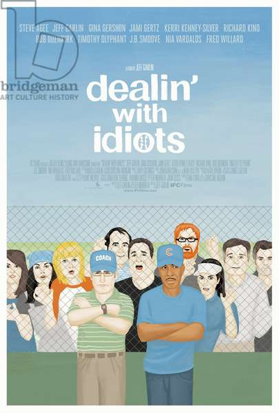 DEALIN' WITH IDIOTS: DEALIN' WITH IDIOTS, US poster art, 2013. ©IFC Films/Courtesy Everett Collection
