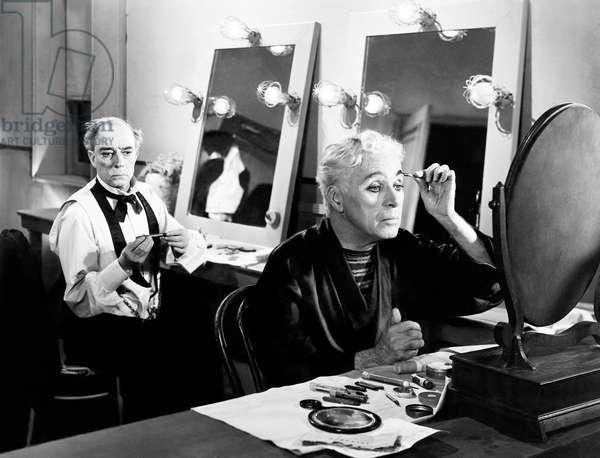 LIMELIGHT, Buster Keaton, Charlie Chaplin, 1952