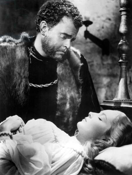 THE TRAGEDY OF OTHELLO: THE MOOR OF VENICE, Orson Welles, Suzanne Cloutier, 1952