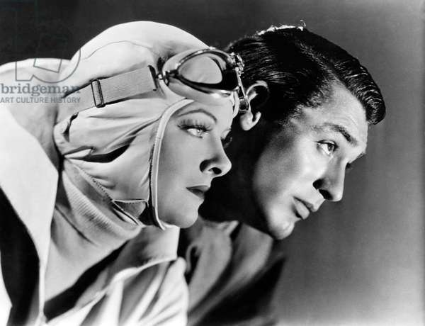 Les Ailes dans l'ombre: WINGS IN THE DARK, Myrna Loy, Cary Grant, 1935