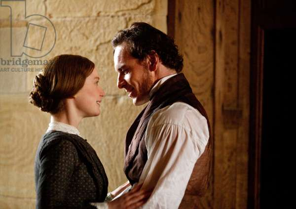 Jane Eyre: JANE EYRE, from left: Mia Wasikowska, Michael Fassbender, 2011. ph: Laurie Sparham/©Focus Features/Courtesy Everett Collection