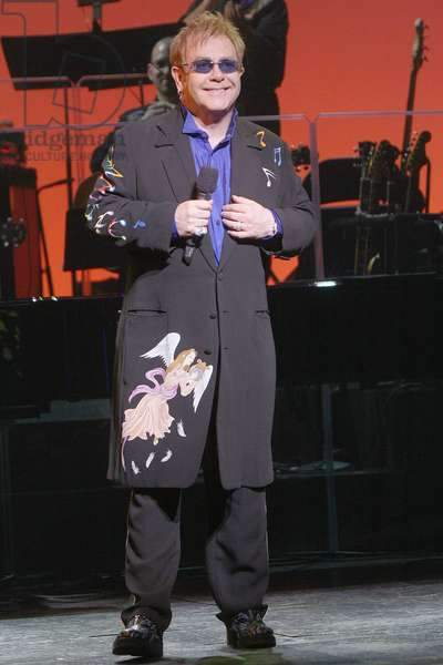 Elton John in attendance for Goodbye Yellow Brick Road 35th Anniversary Concert by Elton John & Friends to Benefit Broadway Cares / Equity Fights AIDS, New Amsterdam Theatre, New York, NY, October 20, 2008. Photo by: Jay Brady/Everett Collection