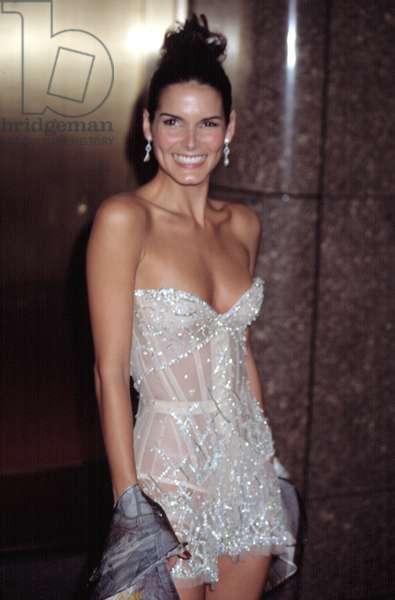 Angie Harmon at VH1 VOGUE FASHION AWARDS, NY 10/15/2002, by CJ Contino