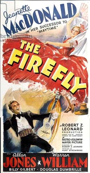 L'espionne de Castille: THE FIREFLY, top right: Jeanette MacDonald, bottom left: Allan Jones, 1937