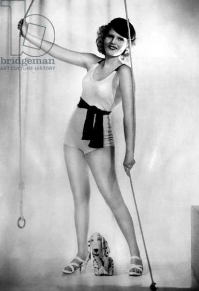 Zsa Zsa Gabor as she appeared in Austrian films, ca. 1930s