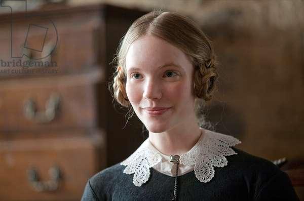 Jane Eyre: JANE EYRE, Tamzin Merchant, 2011. ph: Laurie Sparham/©Focus Features/Courtesy Everett Collection