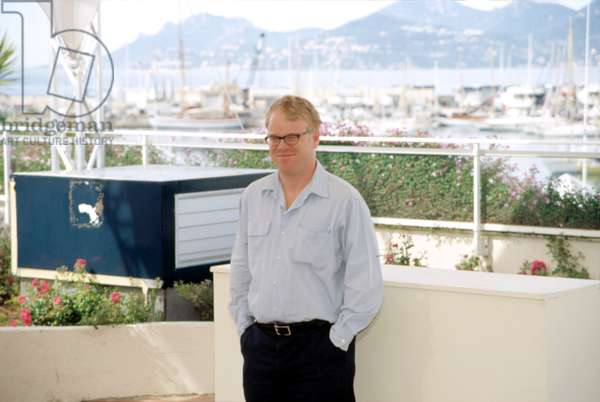 Philip Seymour Hoffman at Cannes Film Festival, 5/2002, by Thierry Carpico