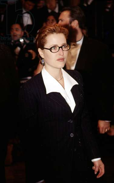 Gillian Anderson at Cannes Film Festival, 1998, by Thierry Carpico