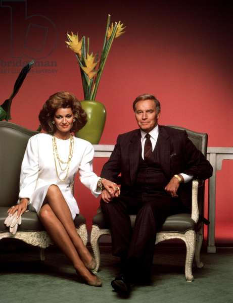 THE COLBYS, Stephanie Beacham, Charlton Heston, 1985-1987
