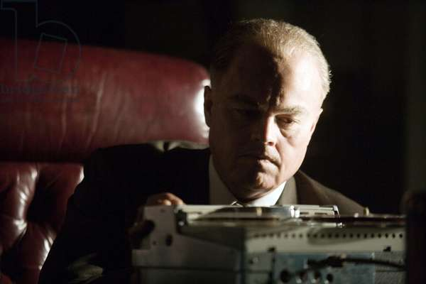 J. EDGAR, Leonardo DiCaprio (as J. Edgar Hoover), 2011, ph: Keith Bernstein/©Warner Bros. Pictures/courtesy Everett Collection