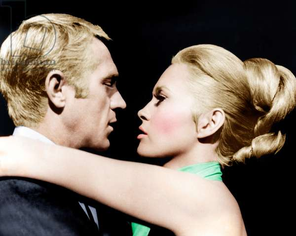The Thomas Crown Affair, From Left: Steve Mcqueen, Faye Dunaway, 1968