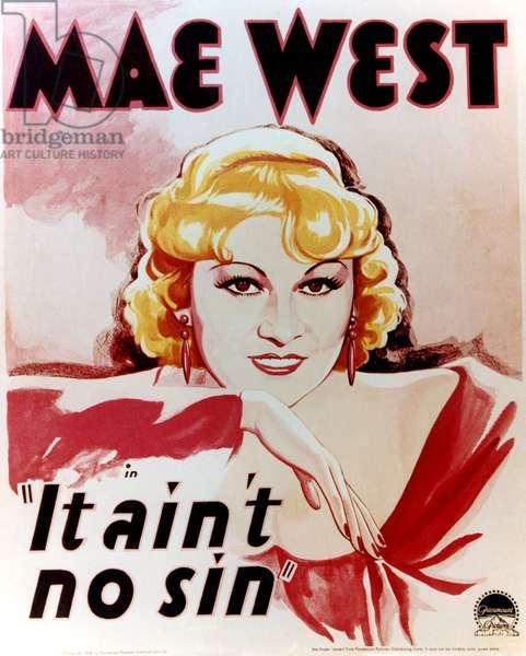 BELLE OF THE NINETIES: BELLE OF THE NINETIES, (aka IT AIN'T NO SIN), Mae West, 1934