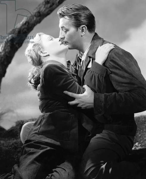 OUT OF THE PAST, Virginia Huston, Robert Mitchum, 1947