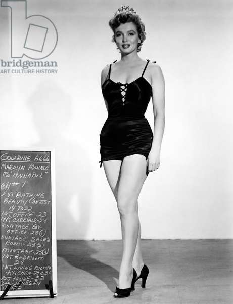 Marilyn Monroe: WE'RE NOT MARRIED!, Marilyn Monroe costume test, 1952, TM & Copyright © 20th Century Fox Film Corp./courtesy Everett Collection