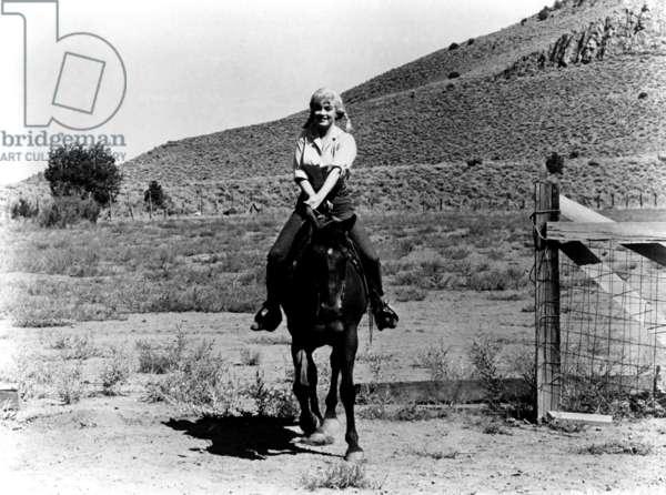 THE MISFITS, Marilyn Monroe, 1961